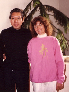 William C.C. Chen and Tricia Yu in 1986
